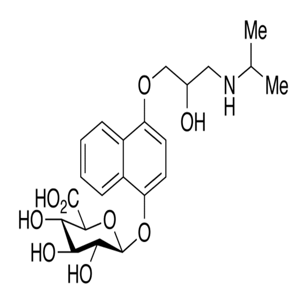 4-Hydroxy Propranolol Glucuronide.png