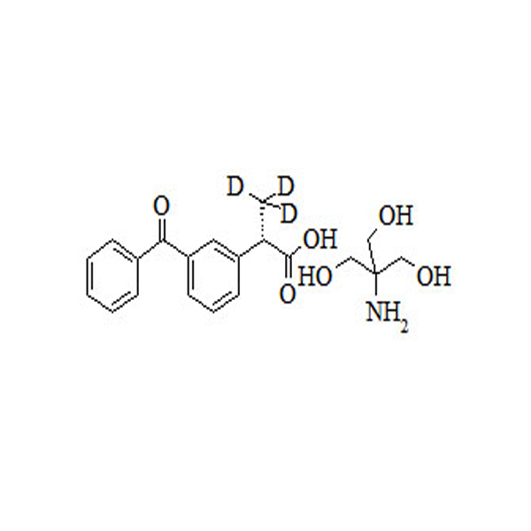 Chiral Standards-(S)-(+)-Ketoprofen-d3 Tromethamine Salt-1580885525.png