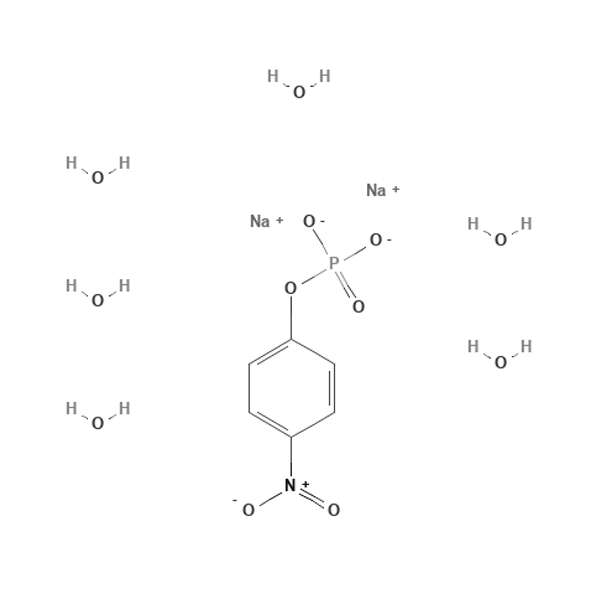 P-nitrophenyl phosphate hexahydrate disodium.png